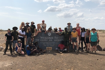 The summer 2019 Koobi Fora Field School class